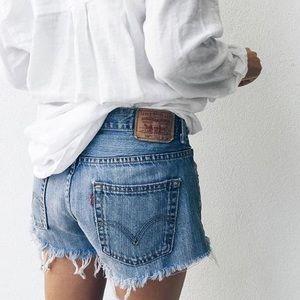 Levi's Classic Cutoff Jean Shorts
